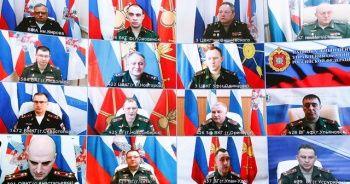 Rus ordusunun komutanları korona virüs testi yaptırdı