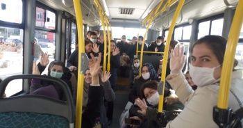 Sağlık çalışanlarına toplu taşıma araçları ücretsiz
