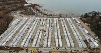 Sivrice'de, 247 aile için konteyner kent tamamlandı