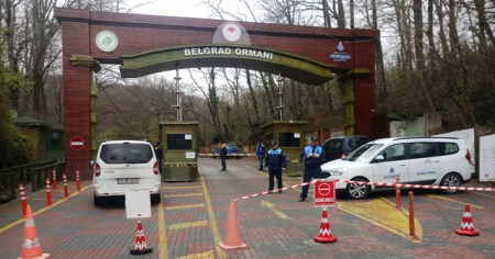 Belgrad Ormanı girişlere kapatıldı