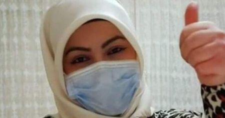 Korona virüse yakalandığını açıklayan İlknur hemşireden güzel haber