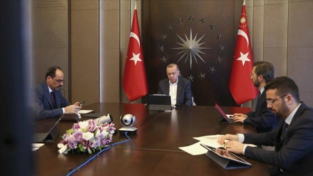 Cumhurbaşkanı Erdoğan, MİT Başkanı Fidan'la görüştü