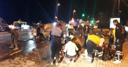 Fatih'te feci kaza! 1 kişi hayatını kaybetti, 3 kişi yaralandı