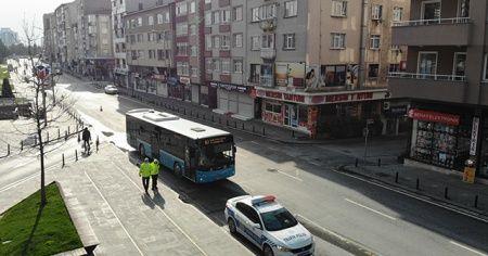 Fazla yolcu taşıyan hatlı minibüs şoförüne ceza
