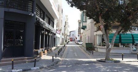 KKTC'de sokağa çıkma yasağı başladı