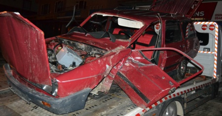 Konya'da feci kaza: 1 ölü, 3 yaralı