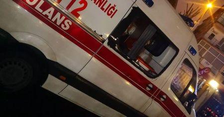 Korona virüs vakasına giden 112 ekibine dehşeti yaşattı