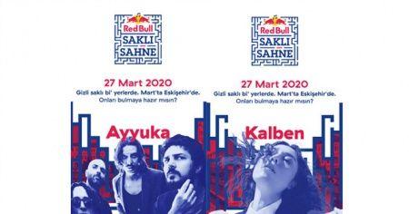 Red Bull Saklı Sahne 27 Mart'ta