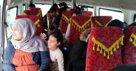 Şehirlerarası otobüs yolculuğu yasağını ihlal eden 49 kişi yakalandı