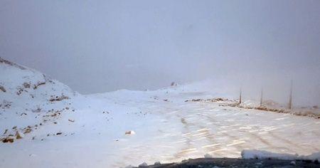 Sivas'a kar yağdı, verilen mesajlarda Korona vardı