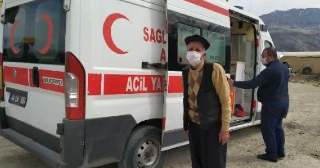 73 yaşındaki KOAH hastası korona virüsü yendi