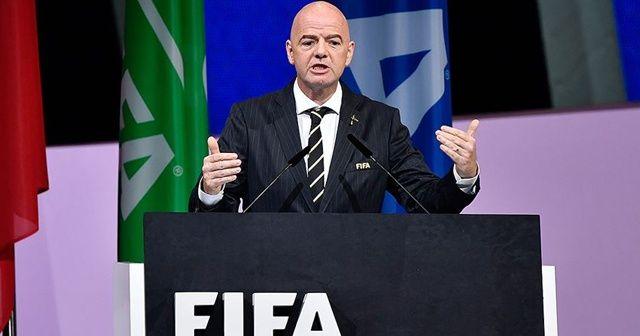 FIFA Başkanı Infantino: Hiçbir maç insan hayatından daha önemli değil