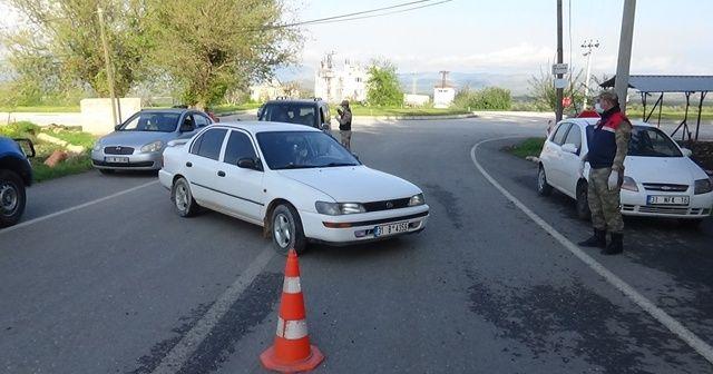 Hatay'da 5 mahalle giriş çıkışa kapatıldı