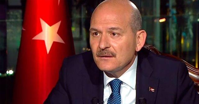 İçişleri Bakanı Soylu: 'Türkiye'nin kamu düzeninde en ufak bir sorun söz konusu değil'