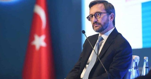 İletişim Başkanı Altun: Milli Dayanışma Kampanyası, tamamen gönüllülük esasına dayalı