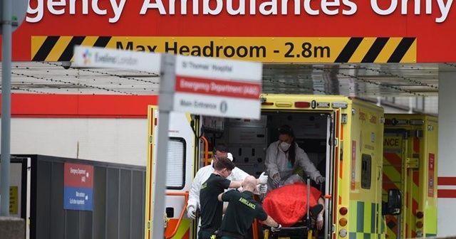 İngiltere'de koronavirüs nedeniyle son 24 saatte 786 kişi öldü