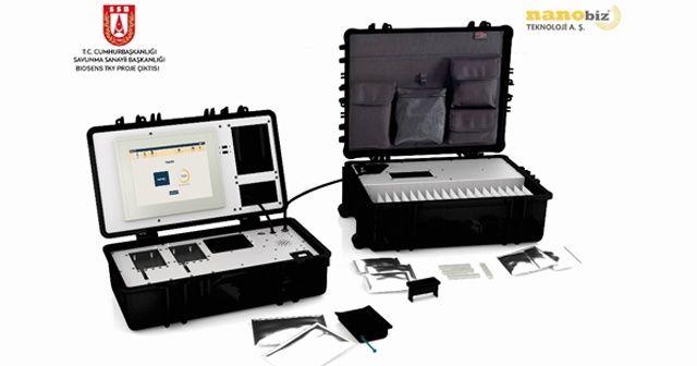 """Kovid-19 için """"yerli ve milli"""" test kitleri ve cihazı geliştiriliyor"""