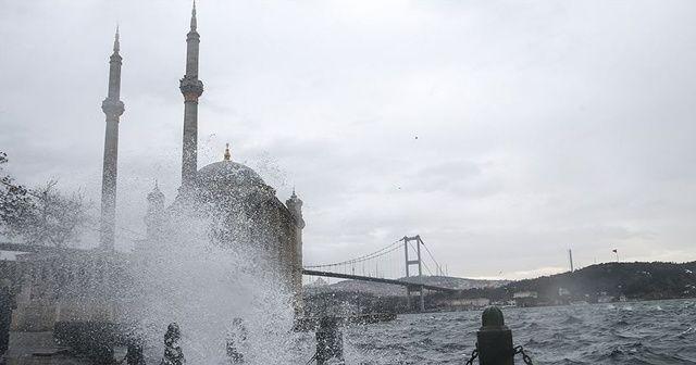 Meteoroloji'den Marmara'ya uyarı