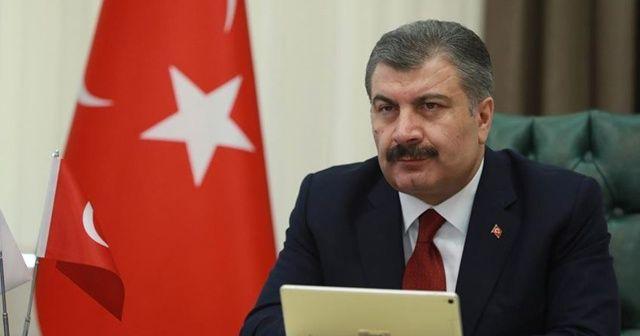 Sağlık Bakanı Fahrettin Koca: Son 24 saatte 69 kişi hayatını kaybetti