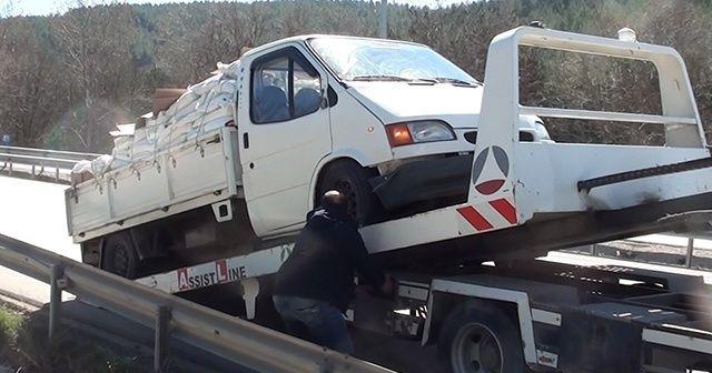 Sağlık görevlisine çarpan sürücüye para cezası