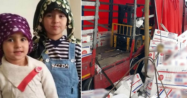 Üzerine inşaat malzemesi düşen kardeşlerden biri öldü diğeri ağır yaralı