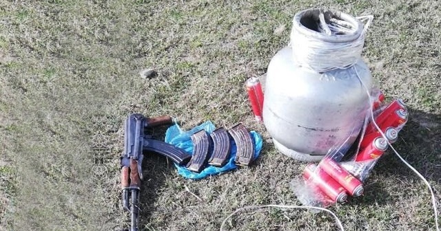 Van'da EYP düzeneği, silah ve mühimmat ele geçirildi