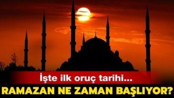 2020 Ramazan Ayı Ne Zaman Başlayacak? / 2020 Dini Günler Takvimi