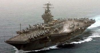 ABD, uçak gemisinden 2 bin 700 askerini tahliye ediyor