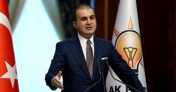 """AK Parti Sözcüsü Çelik: """"Ankara Barosunun yayınladığı insanlık düşmanı bir metin"""""""