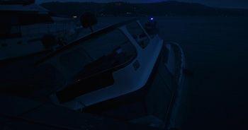 Bebek Sahilinde lüks tekne battı