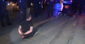 Bir polisin yaralanmasına neden alkollü ve ehliyetsiz şahıstan küstah yanıt