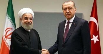 Cumhurbaşkanı Erdoğan, İran Cumhurbaşkanı Hasan Ruhani ile telefonda görüştü