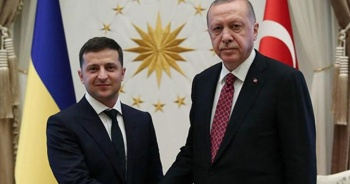 Cumhurbaşkanı Erdoğan, Ukrayna Cumhurbaşkanı Zelenskiy ile görüştü