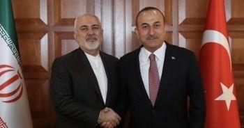 Dışişleri Bakanı Çavuşoğlu İranlı mevkidaşıyla görüştü