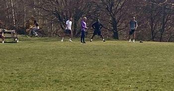 Futbolcular ile parkta antrenman yapan Mourinho hatasını kabul etti