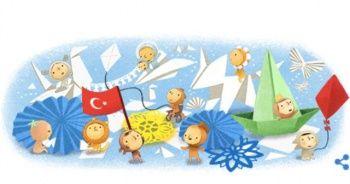 Google 23 Nisan için özel logo hazırladı