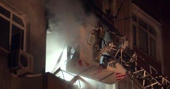 Güngören'de doğalgaz patlaması: 4 yaralı