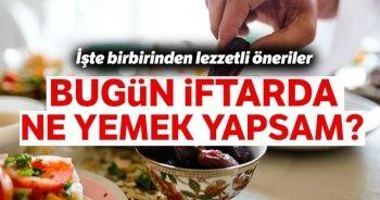 İftar yemeği menüsü 15 Ramazan iftar menüsü