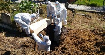 Korona virüsten vefat eden 3 kişi defnedildi