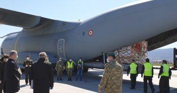 MSB: Sağlık malzemelerini taşıyan uçağımız Bosna Hersek'e ulaştı
