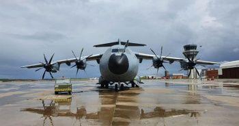 MSB: Yardım malzemesi taşıyan TSK'ya ait uçak İtalya'ya indi