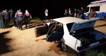 Nazilli'de kontrolden çıkan araç baraj göletine uçtu: 1 ölü