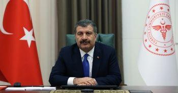 Sağlık Bakanı Koca: Türkiye'de 4. haftada vaka artış hızı düşüşe geçti