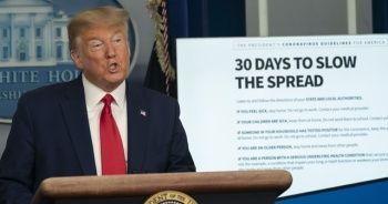 Trump: Virüse tüm yönlerden saldırıyoruz