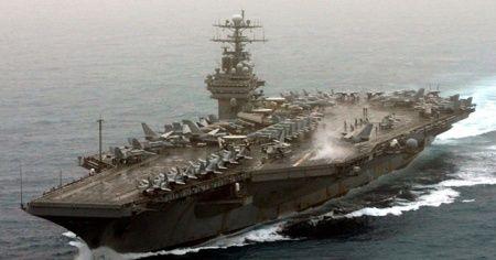 ABD uçak gemisi kaptanından yardım çağrısı