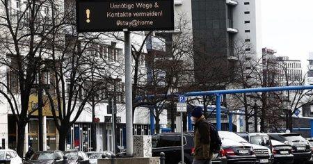 Almanya'da koronavirüs nedeniyle ölenlerin sayısı 1048'e yükseldi
