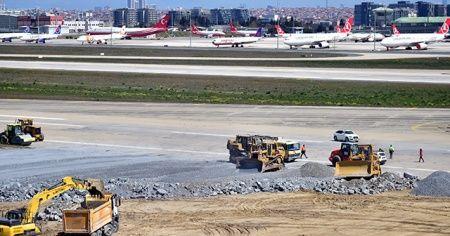 Atatürk Havalimanı'nda hummalı çalışma