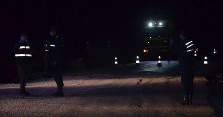 Çankırı'da Yapraklı ilçesi karantinaya alındı