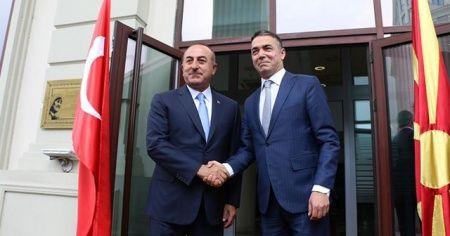Çavuşoğlu'ndan, Kuzey Makedonyalı mevkidaşı Dimitrov'un teşekkürüne 'Yanınızdayız' cevabı