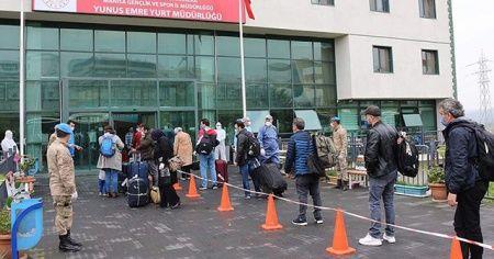 Cezayir'den getirilen 299 kişi Manisa'daki yurtta karantinaya alındı